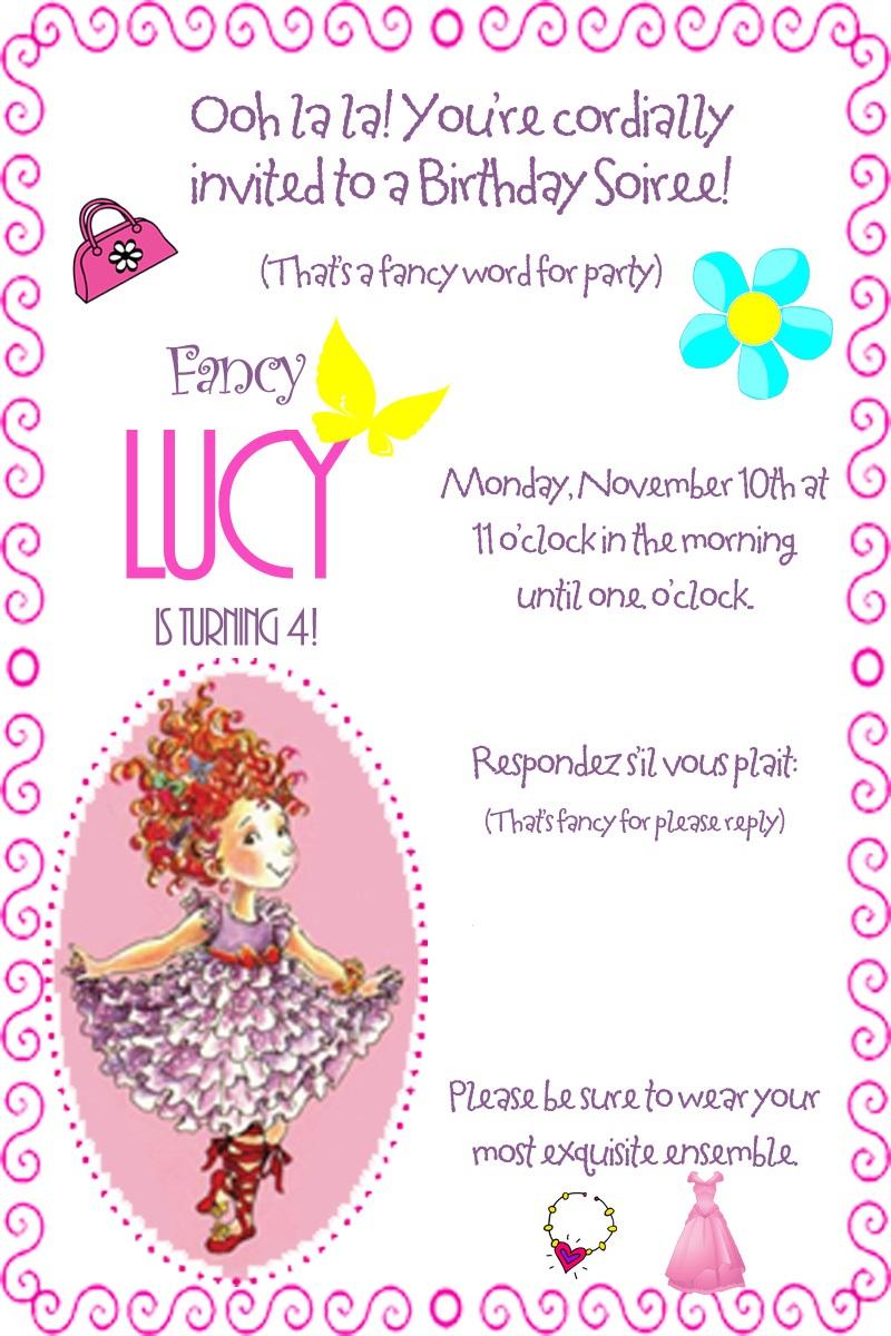 How to throw a Spectacular, Fabulous Fancy Nancy Birthday Party | C ...