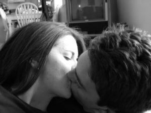 B&W Kiss
