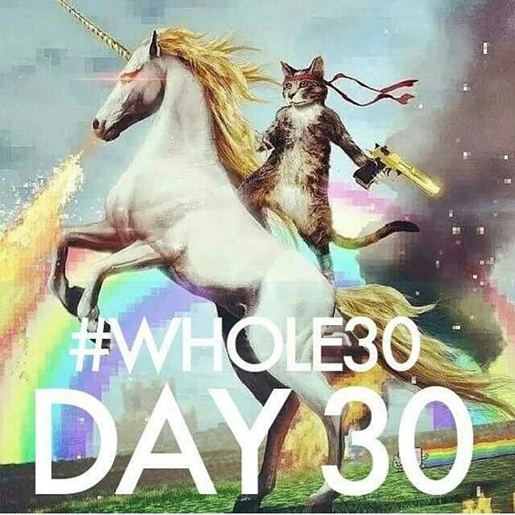 Whole 30 day 30