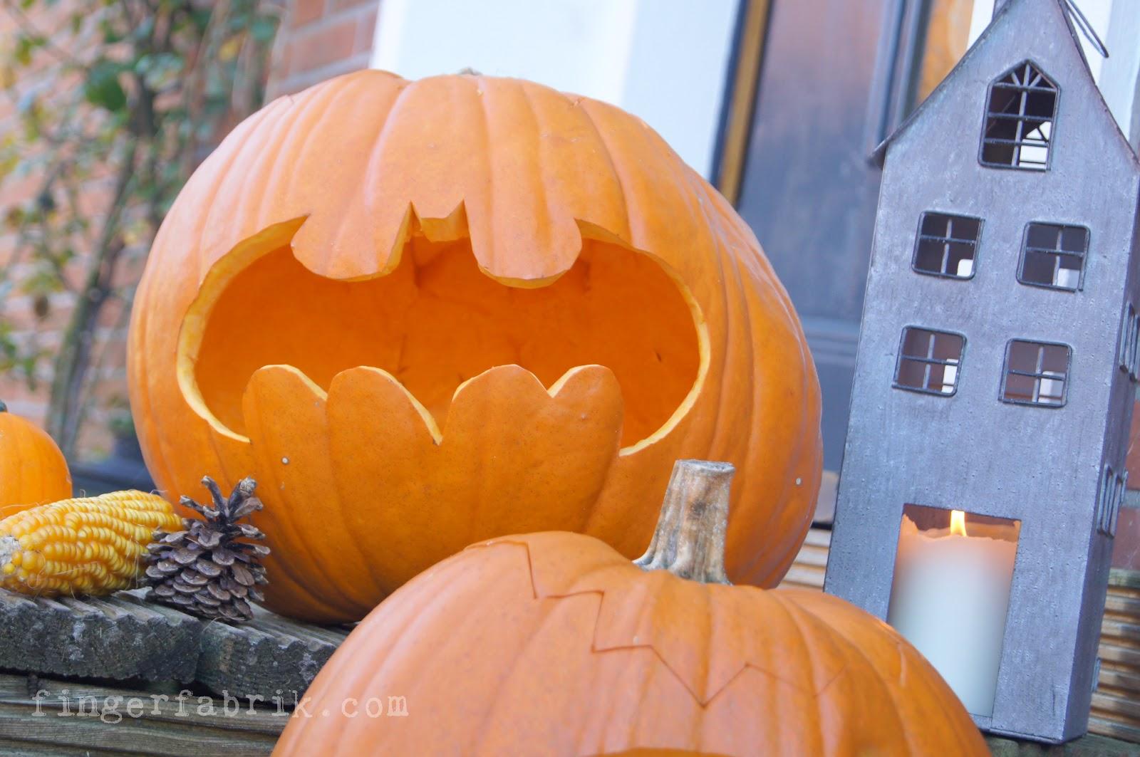 Schön Batman Halloween Kürbis Vorlage Ideen - Entry Level Resume ...
