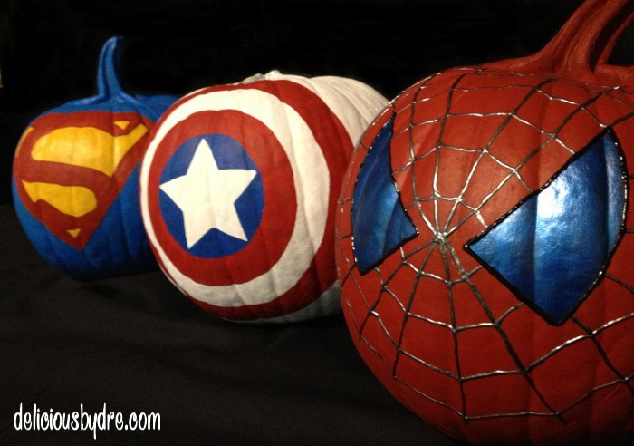 superhero-pumpkins