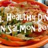 Asian Salmon Bowls