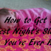 best sleep