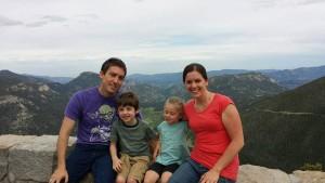 family at RMNP