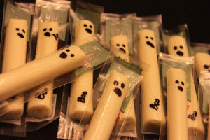 cheese ghosts
