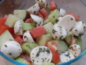 Healthy Italian Side Salad