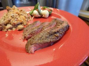 grilled round steak