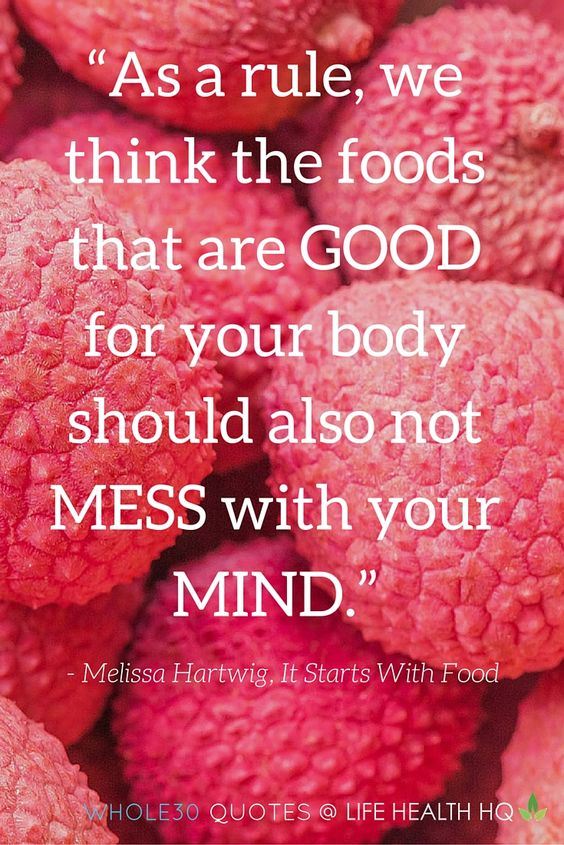 Food for your mind