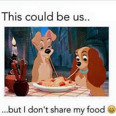 don't share food