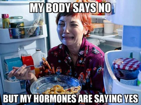 hormones say yes
