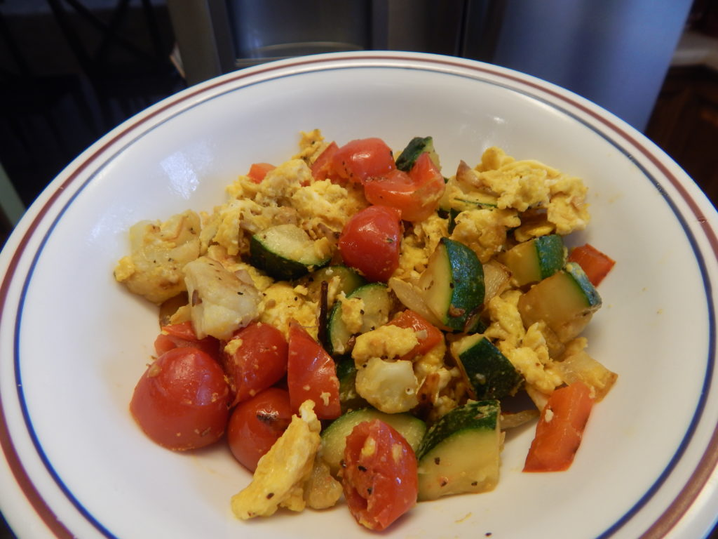 Egg and Veggie Stir Fry