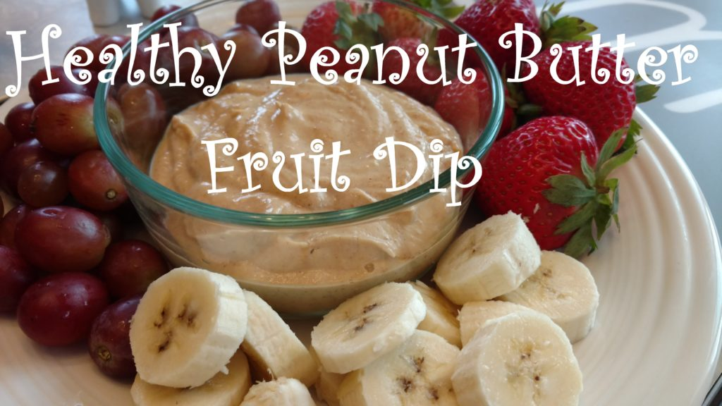 Healthy Peanut Butter Fruit Dip 2