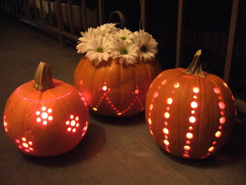 drilled-pumpkins