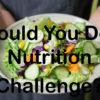 Nutrition challenge